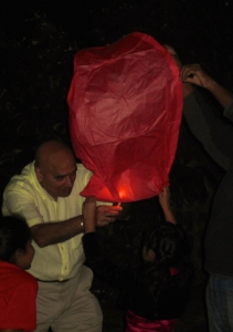 The Bedi balloon #1